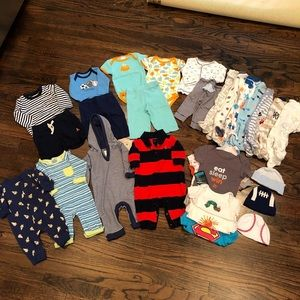 Huge Lot of Newborn Baby Clothes